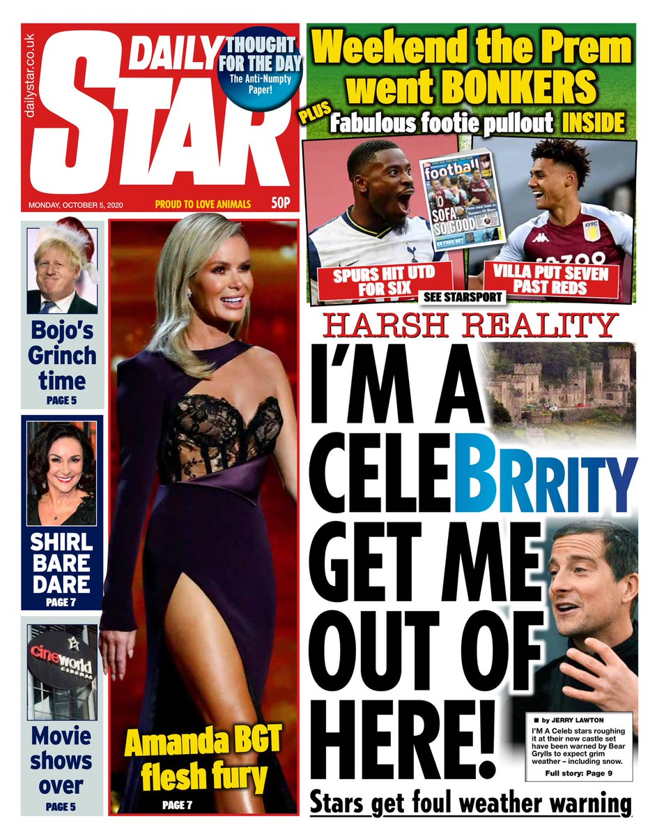 Daily Star Front Page 15th of December 2020 - Tomorrows
