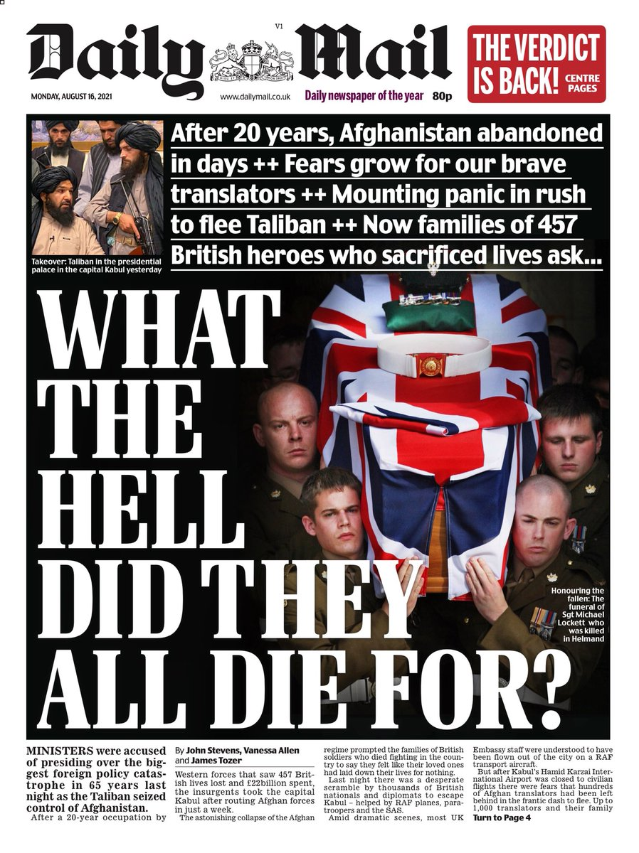 Los talibanes vuelven a controlar Afganistán Daily-Mail-11
